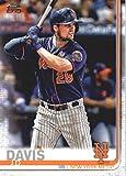 2019 Topps #603 J.D. Davis New York Mets Baseball Card