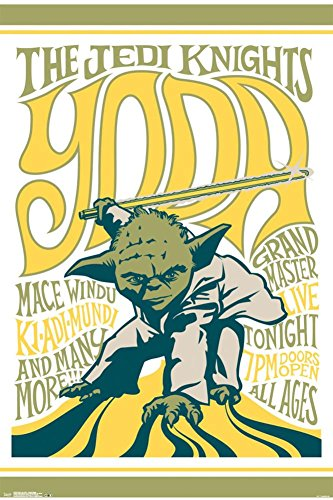 Star Wars- Grand Master Yoda Poster 24 x 36in