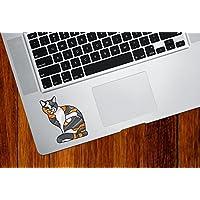 Charming Cat Vidrieras estilo – Trackpad | Tablets | computadora – Vinilo calcomanía© yydc (5,7 cm W x 7 cm H) (opciones…