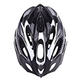 EverTrust(TM)Vents Ultralight Sports Road Mountain Bike Bicycle Helmet with Lining Pad Cycling Helmets Adult, Black