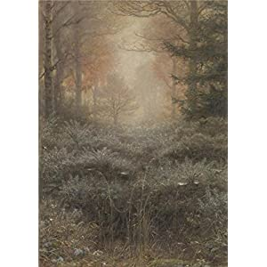 Oil Painting 'John Everett Millais - Dew-Drenched Furze,1889-1890', 12 x 17 inch / 30 x 43 cm , on High Definition HD canvas prints is for Gifts And Hallway, Kids Room And Living Room Decoration, fine