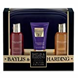 Baylis & Harding Limited Edition Black Assorted Lux Bag Set