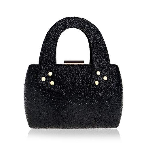 - Road&Cool Clutch Handbag Dress Sequin Crossbody Bag Dinner Shoulder Bags Woman Champagne Wallet Evening Dress Cosmetic Bag Pocket (18×5×12cm)