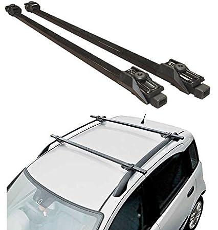 Schwarz abschlie/ßbar als Diebstahlschutz 120 cm Hardcastle Dachtr/äger f/ürs Auto