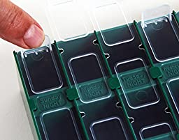 Meds-Pro 14-Day Double Sided Pill Organizer