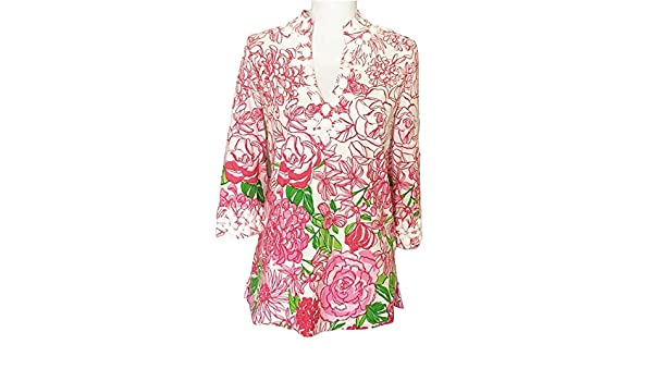 047578b2cc9316 Lilly Pulitzer - Newbury Tunic - Color by Numbers - 8 at Amazon Women's  Clothing store: