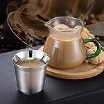 Uticon-Espresso-Cup80-160ml-a-Doppia-Parete-di-Isolamento-Termico-in-Acciaio-Inox-Caff-Espresso-Tazza-di-Vuoto-A