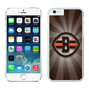 Cleveland Browns iPhone 6 PlusCases White 5.5 inches