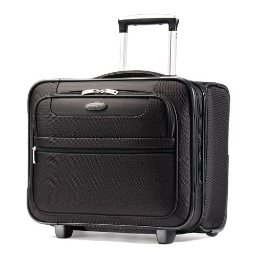 Samsonite Luggage L.i.f.t. Wheeled Boarding Bag, Black, 17 Inch by Samsonite