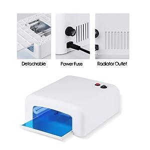 BORN PRETTY 36W UV Nail Dryer Curing Lamp Light for Fingernail