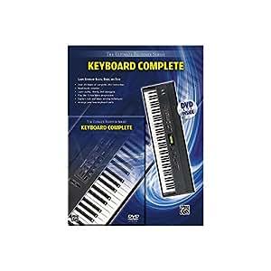 The Ultimate Beginner Series: Keyboard Complete (Book & DVD)