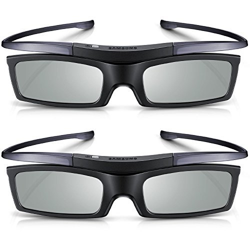Branded New 2 x Samsung SSG-5150GB for D,E, ES, F Series TV Active 3D Glasses by Samsung