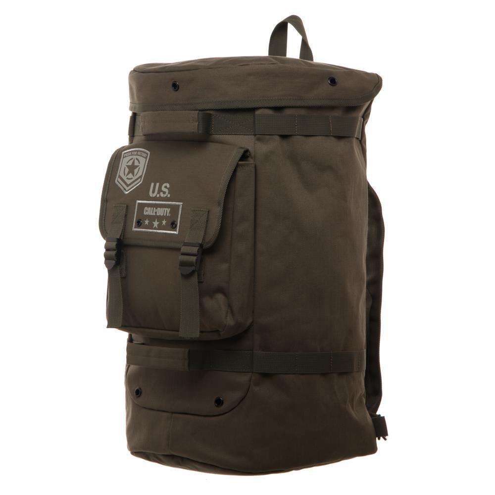 617aa50604e Amazon.com  Bioworld Call of Duty WW2 Military Convertible Duffle Bag  Backpack  Toys   Games