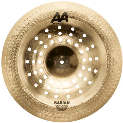 Sabian 17'' AA Holy China Cymbal Natural 21716CS by Sabian