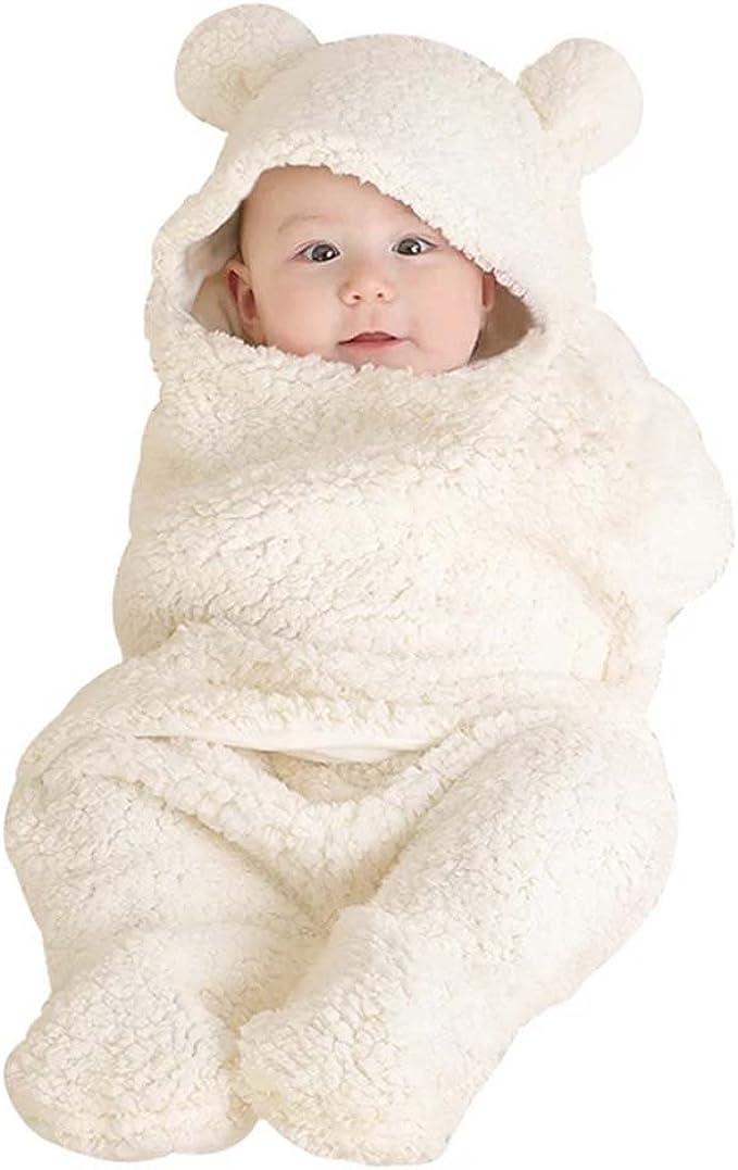 Bleu ou Blanc Nouveau Bébé Fille Cadeau-Magnifique Doux Cellulaire Couverture en Rose