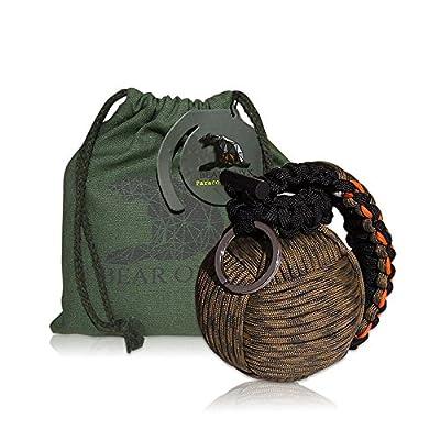 BEAR ONYX Paracord Grenade Survival kit by BEAR ONYX