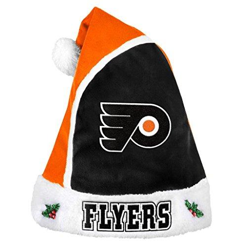 NHL Philadelphia Flyers Unisex 2015 Basic Santa Hat, One Size Flyers Fan