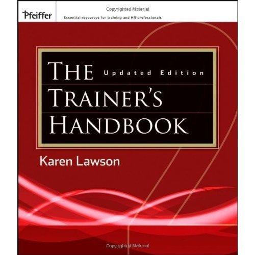 The Trainers Handbook By Lawson, Karen