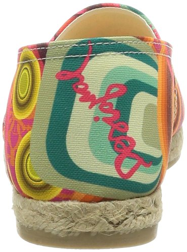 Desigual Shoes_esparto Plan, 3036 Rojo Clavel, 36 - - Mujer Naranja