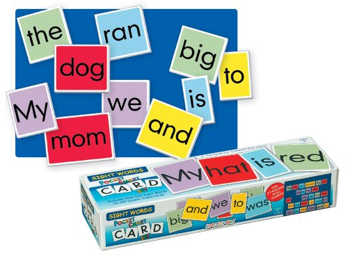 Learning Charts Classroom Material - Lauri Pocket Chart Cards - Sight Words