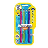 Paper Mate InkJoy 2 in 1 Stylus Ballpoint Pens, Medium Point, Assorted Ink, 4 Pack (1951410)