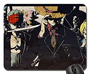 One Piece - Luffy and Company Mouse Pad, Mousepad (10.2 x 8.3 x 0.12 inches)