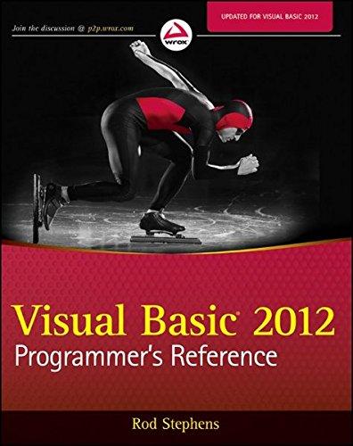 Visual Basic 2012 Programmer's Reference ISBN-13 9781118314074