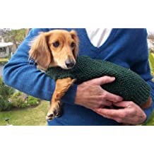Knitting Pattern for Lena's Miniature Dachshund Dog Sweater
