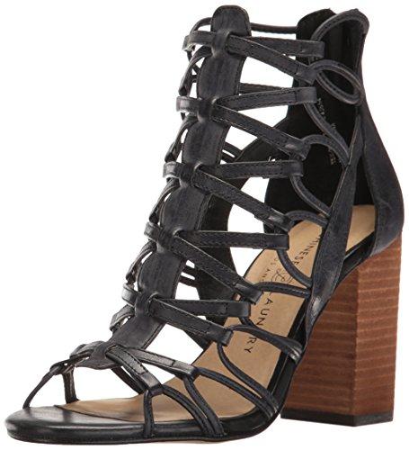 Tegan Laundry Chinese Black Gladiator Women's Leather Sandal wHxCqEdP