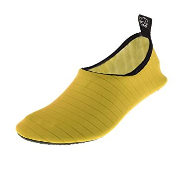 P Prettyia Mujer Hombre Deportes Acuáticos Zapatos Calcetines de Playa Yoga Piscina Nadar Buceo Zapatillas Descalzo con Suela Antideslizante: Amazon.es: ...