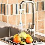 Quanjucheer-spruzzatore-per-rubinetto-da-cucina-tubo-flessibile-per-lavello-diffusore-girevole-soffione-doccia-regolabile-Corto-Blue