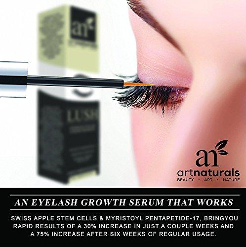 894081092a4 ArtNaturals Eyelash Growth Serum - (3.5ml) - Thicker, Longer - Import It All