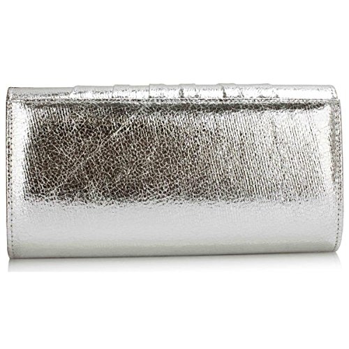 Xardi London, Borsa baguette donna medium Silver