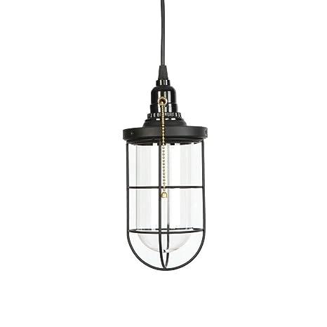 Amazon.com: Lámpara colgante de jaula, lámpara de techo de ...
