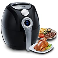 Blusmart Electric Air Fryer with Temperature and Time Control LED Display