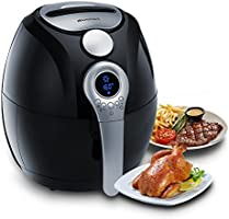 Electric Air Fryer, Blusmart Power Air Frying Technology with Temperature and Time Control