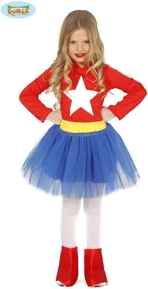 Guirca-83213 Capitán América Disfraz 5-6 años Supergirl ...