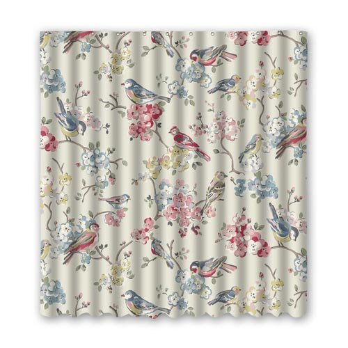 Amazon Shower Curtain Bath Brighten Showercurtain Hook Polyester Anti Bacterial Densely Woven 59x71 Inch Home Kitchen
