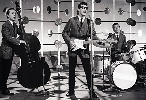 Buddy Holly Poster, Rock N' Roll Pioneer, Live in Concert