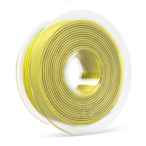 BQ F000123 – Filamento PLA de diámetro 1.75 mm, 300 g, color sunshine yellow