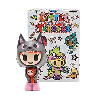 tokidoki Little Terrors Blind Box Mini Series ONE Box: Toys & Games