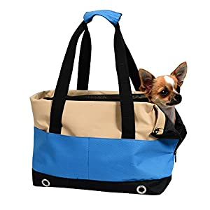 Dog Handbag Carrier for Pets, Jespet Airline Approved Travel Soft Sided Pet Carrier for Dogs, Cats and Puppies