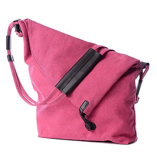 Bags Hobo Messenger Shoulder Bag Canvas Classic ZongSen Unisex Rose Crossbody Casual Hqpp5Y