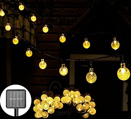 Solar Led Globe String Lights - 9