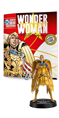 Eaglemoss DC Super Hero Collection: Wonder Woman Mythologies #2 Golden Eagle Armor Figurine, 5