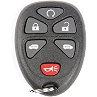 ACDelco 15114376 GM Original Equipment 6 Button Keyless Entry Remote Key Fob
