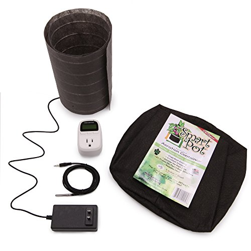 ThermoSoil Root Zone Heating & Control – RootWarmer 5 Gallon SmartPot Basic Kit by ThermoSoft