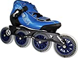 VNLA Carbon Speed Roller Blades/Adult Rollerblades Women - Adjustable Inline Skates for Women - Patines Roller Skate Blade - Rollerblades Men (Black, Blue, Green, Red)