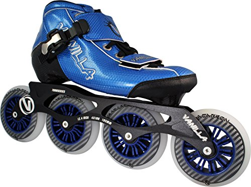 VNLA Carbon Speed Inline Skates Blue 7