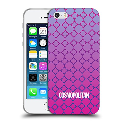 Official Cosmopolitan Ombre 8 Fun Summer Soft Gel Case for Apple iPhone 5 / 5s / SE